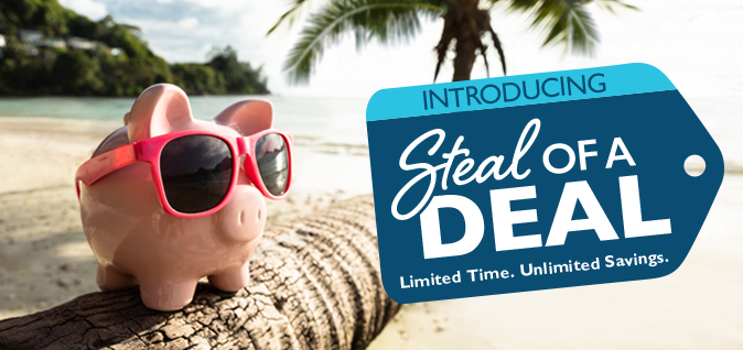 Introducing Steal of a Deal
